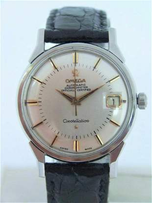 Vintage S/Steel OMEGA CONSTELLATION Automatic Watch