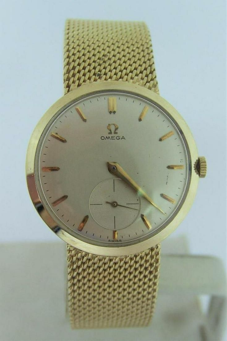 Men's Solid 14k Yellow OMEGA Winding Watch Ref H-6569