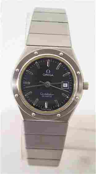 Ladies S/Steel OMEGA CONSTELLATION Quartz Watch 1380 in