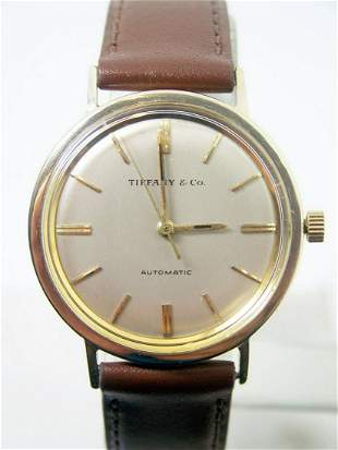 Vintage Solid 14k TIFFANY & CO Automatic / Winding