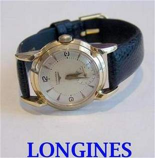Solid 14k LONGINES Winding Watch c.1950s Cal.23Z*