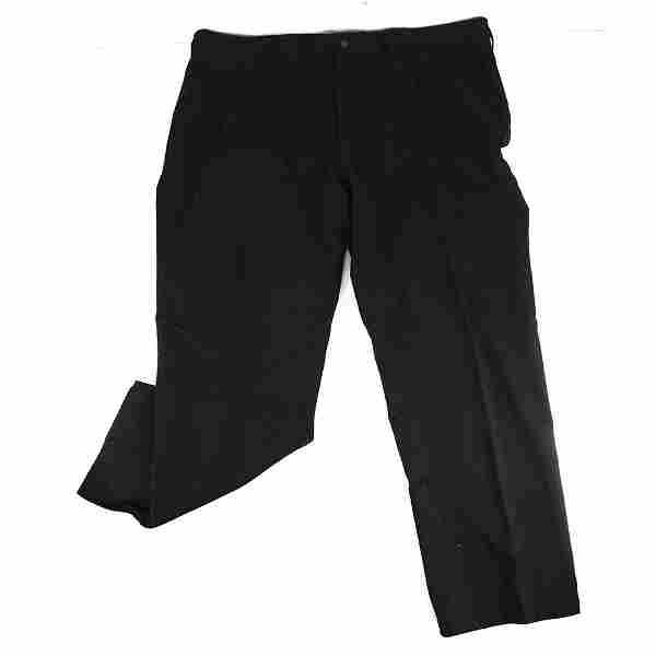Ralph Lauren Polo Black Cotton Men Casual Trousers