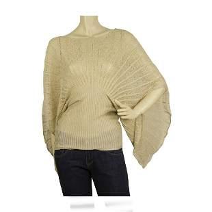 Paul & Joe Gold light knit butterfly wing sleeves
