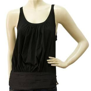 Paul Smith Ladies Black Tank Top Sleeveless T-Shirt