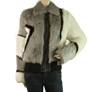 Jo Peters Three Colors Gray Toscana Shearling Fur