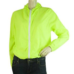 Pinklicious Neon Lime Cotton Hooded Jacket Shorts Pants