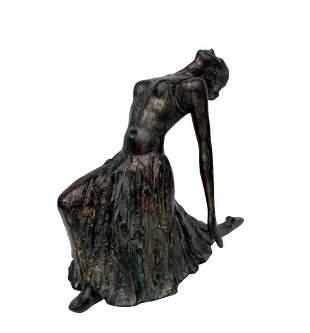 Beautifull sculpture of a Ballerina after 'Degas'