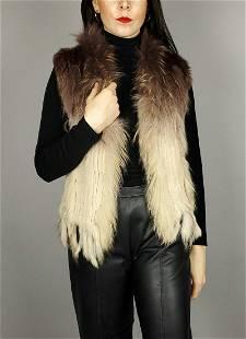 Lapin Raccon Fur Vest