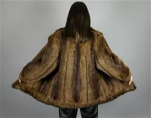Brown Nutria Jacket