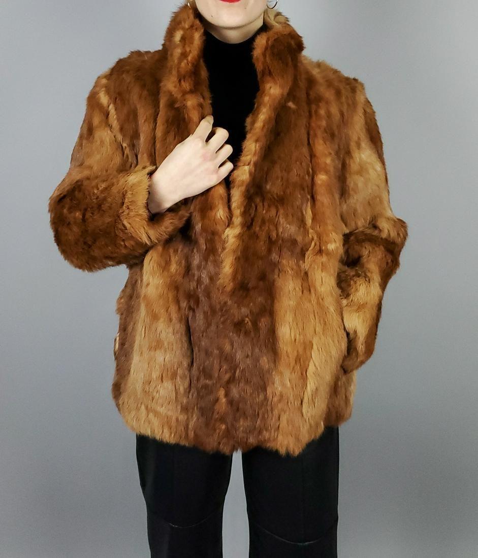 Orange Brown Lapin Jacket