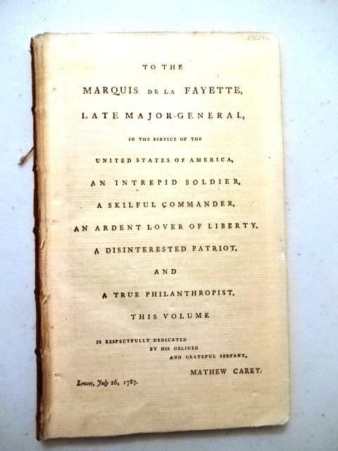 1787 Magazine Paper Money Franklin Lafayette