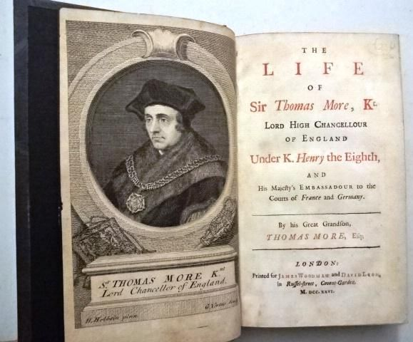 1726 The Life of Sir Thomas More