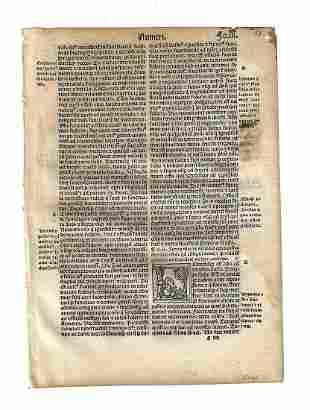 1514 Bible Leaf Portrait Initials Numbers