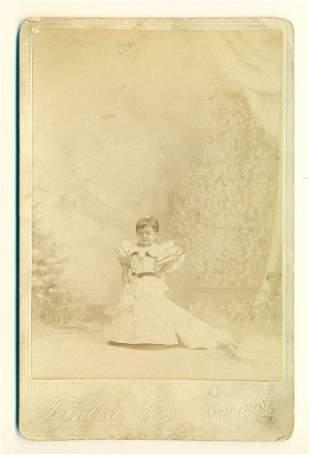 ca.1880 CHIQUITA CIRCUS SIDESHOW freak DWARF by