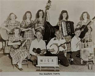 c 1950 HILLBILLY COUNTRY MUSIC PUBLICITY PHOTO the