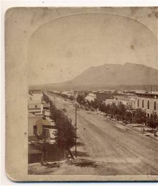 c1880 COLORADO SPRINGS Colorado EARLY TEJON SWEEPING