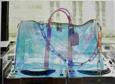 Louis Vuitton Keepall Bandoulière 50 Prism Iridescent