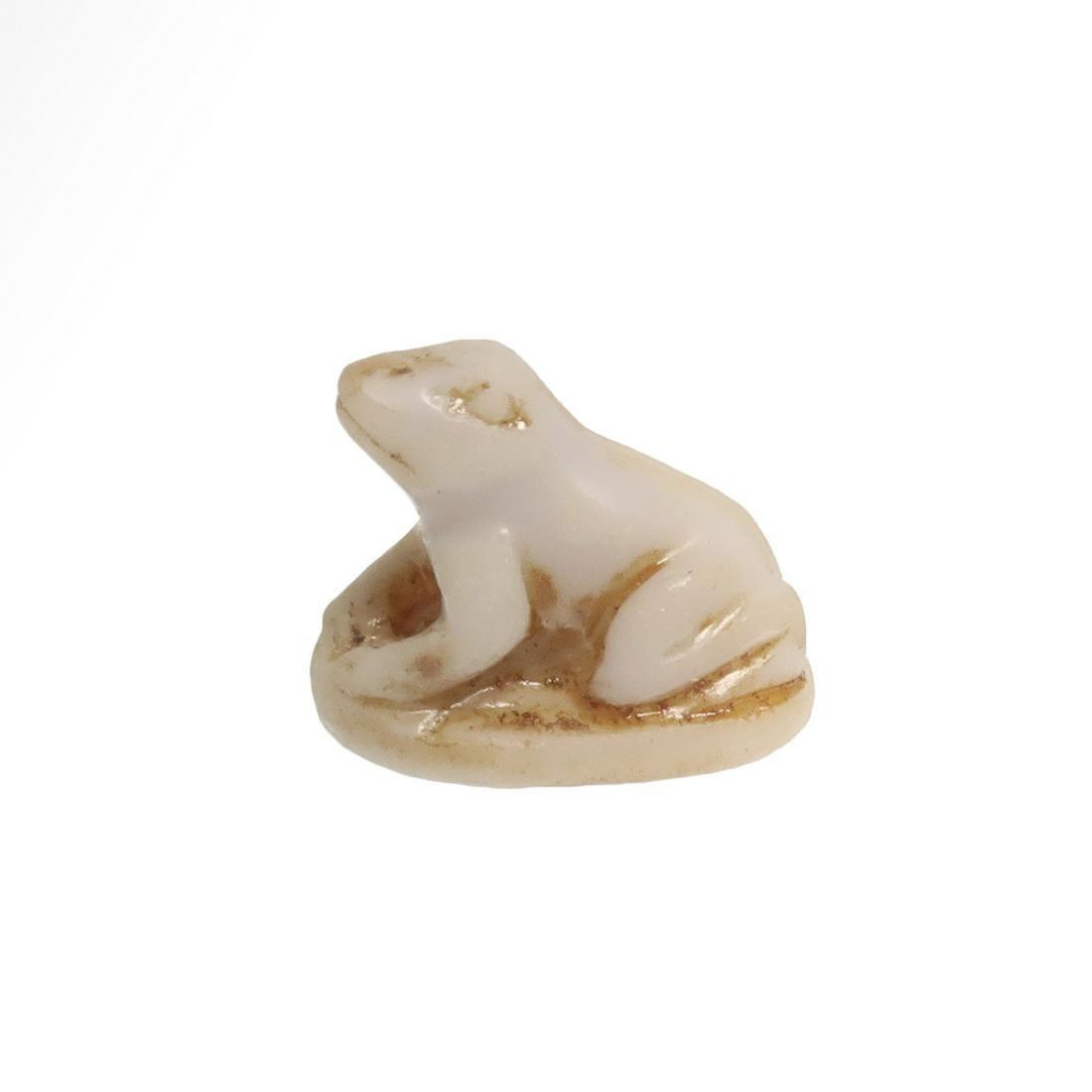 Egyptian Alabaster Frog