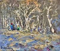 Oil painting Early spring Kalenyuk Alex