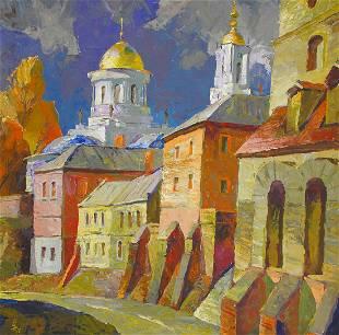 Oil painting Lower Cathedral Egor Ktpatunov