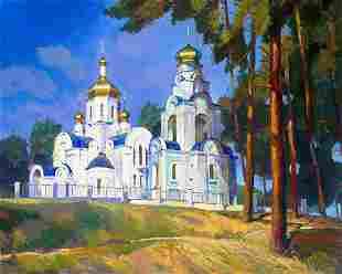 Oil painting In Basakh Egor Ktpatunov