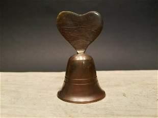 Brass Heart Bell