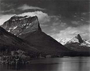 ANSEL ADAMS - Saint Mary's Lake, Montana, 1942