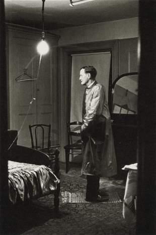 DIANE ARBUS - Backwards Man in Hotel Room, NYC, 1961