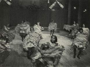ILSE BING - French Cancan, Moulin Rouge, Paris, 1931
