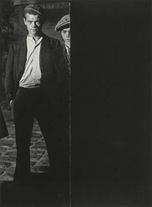 BRASSAI - Two Toughs in Big Albert's Gang, 1932