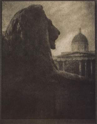 ALVIN LANGDON COBURN - The British Lion, 1905