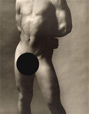 KEN HAAK - Untitled Nude, 1974