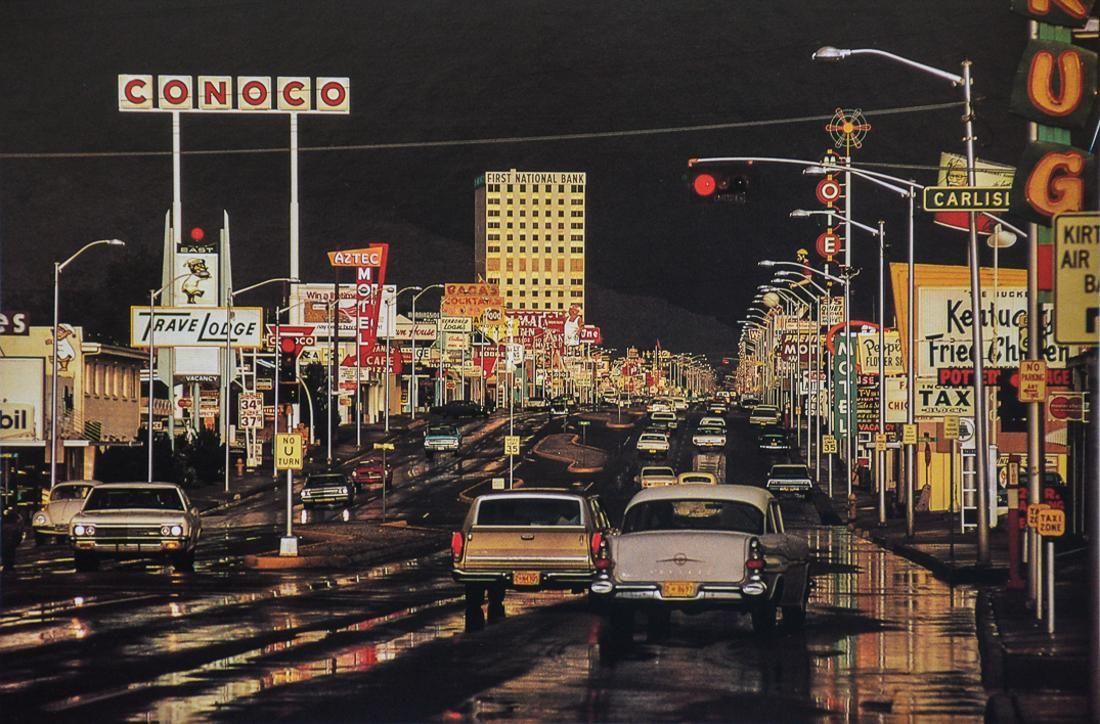 ERNST HAAS - Route 66, Albuquerque, New Mexico, 1969