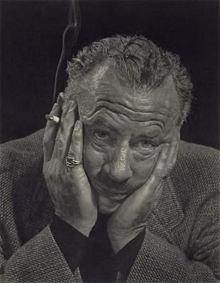 YOUSUF KARSH - John Steinbeck