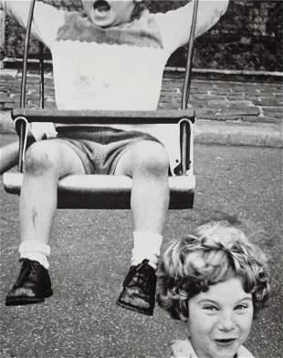 WILLIAM KLEIN - Swing & Boy & Girl, New York, 1955