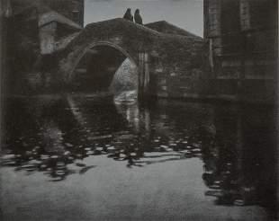 HEINRICH KUEHN - Venetian Bridge, 1902