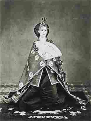 UCHIDA KYUICHI - Empress Meiji