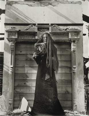 CLARENCE JOHN LAUGHLIN - The Unborn, 1941