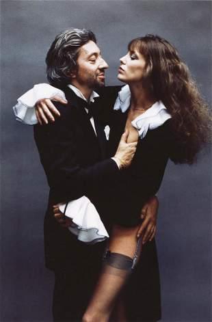 HELMUT NEWTON - Serge Gainsbourg, Jane Birkin, 1978