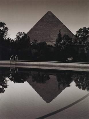 ALBERT WATSON - Mena House Swimming Pool, Giza, 1988