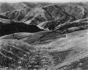 EDWARD WESTON - Ranch with Haycocks, Sonoma, 1937