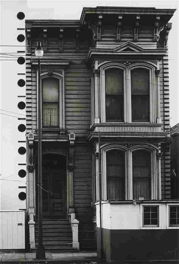 MINOR WHITE - Bush Street, San Francisco, 1950