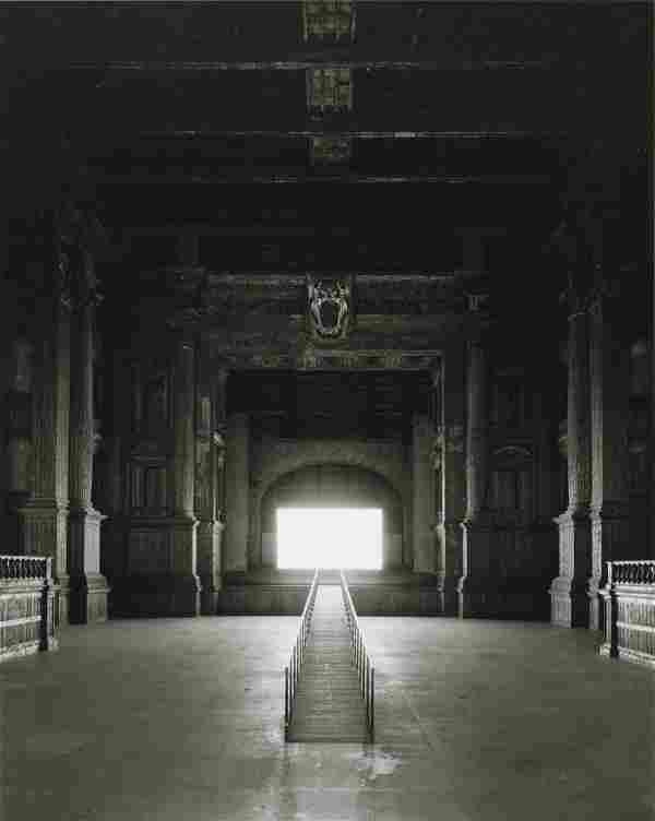 HIROSHI SUGIMOTO - Teatro Farnese, Parma, 2015