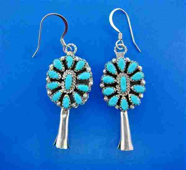 COOL Native American Silver & Multi Color Turquoise