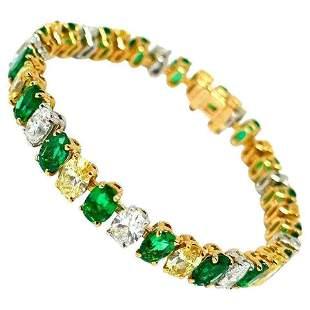 Oscar Heyman Vintage Yellow Gold Platinum Diamond
