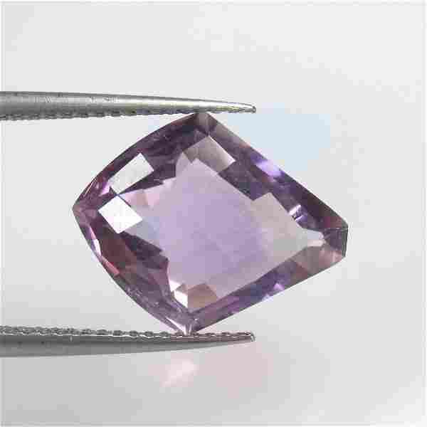 5.88 Ct Natural Purple Amethyst Fancy Cut