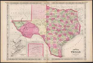 Exceptional example of Johnson's Texas, 1866