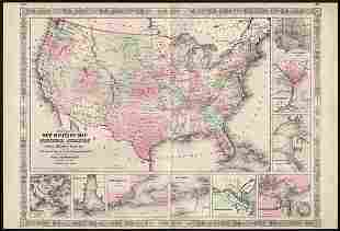 Best version of 1863 Military Map of the U. S.