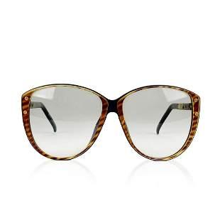 Christian Dior Vintage Oversize Sunglasses 2277 Brown