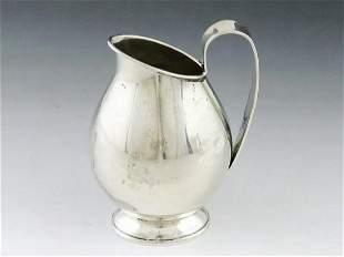 German sterling silver milk jug